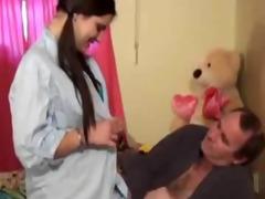 daddy receives his daughter preggo