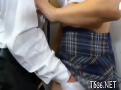 obscene act with schoolgirl