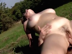 woman massages lad receives fucked-daddi