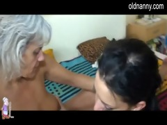 see excited aged lesbo sex with a younger cutie