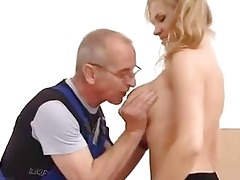 juvenile angel drilled in the ass by old