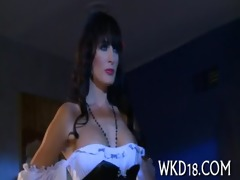 wicked gal is dped on web camera