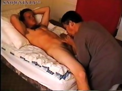 str marine oral-job & cook jerking - red shirt