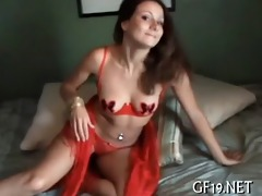 cute whore goes wild on a dick