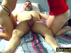 mamma and her step daughter drilled old stud 2