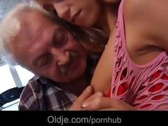 favourable older man gustavo copulates super hawt