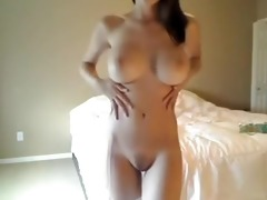 lascivious hotty makes use of dads large shower