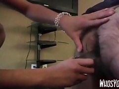 older man has a femdom experience
