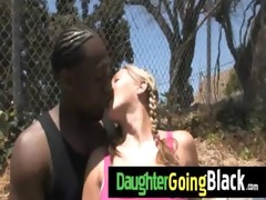 recent darksome stepdad punishes sexy daughter