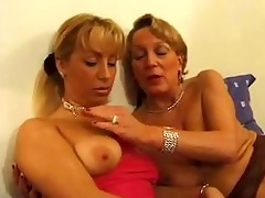 aged french lady getting fisted by a younger hotty