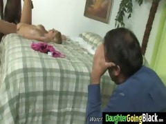 juvenile daughter with admirable arse screwed by