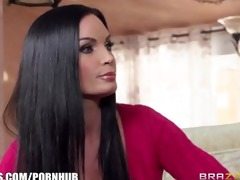 brazzers - mommy and stepdaughter receive fucked