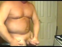 powerful large shlong dad busts a sexy nut!