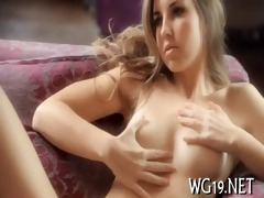 ravishing beauty masturbating