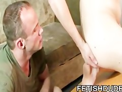 rock hard dilf chris kohl inspecting a twinky