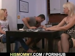 he finds his gf and mama fucking every other