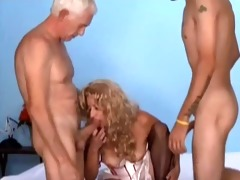 old stud juvenile chap and woman bi