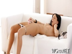 babe caresses by fake pounder