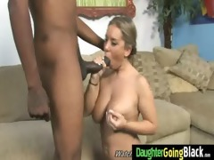 juvenile daughter with fine gazoo drilled by a