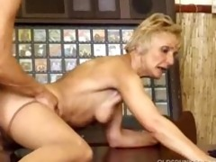 granny fucked by younger chap