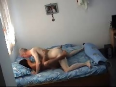 old man doing oriental