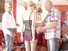 dissolute parents seduces their sons gf