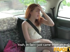 faketaxi spanish model acquires taken for a ride