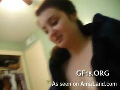 stripped girlfriend porn