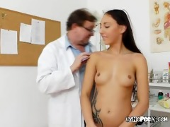 ell receives examined bare by old medic