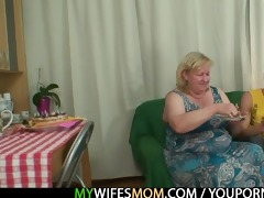 he is is lured into sex by plump mother in law