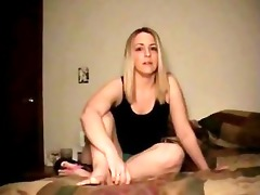 step sister catches jerking off