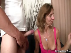 she is rides her son in law penis
