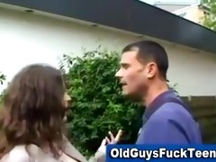 old boy oral-job by sexy younger playgirl