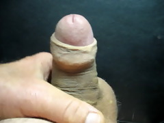 62 year old wanking and cumming #8