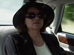 105 year old lady fucks her chauffeur and a