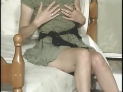 660-7 75 year-old lorraine ward undresses in