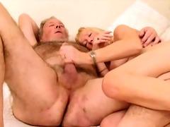 hirsute grandad with wife