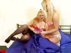 mommy & daughter vibrator play