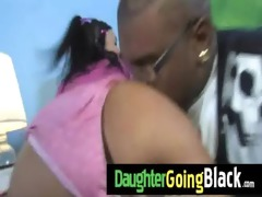 hot legal age teenager daughter fuck a massive