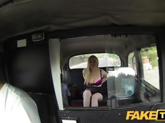 faketaxi breathtaking scottish blond with great
