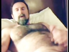 fuckin hawt pumped up furry daddy discharges load