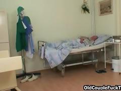 grandad bonks hawt lewd nurse