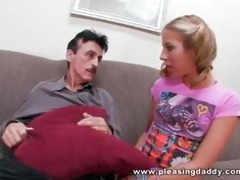 chastity lynn catch old guy jerking off and