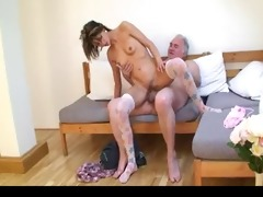 old guy bonks young beauty 2