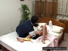youthful japanese japanese daughter fuck