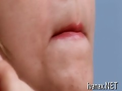 hirsute dong is good for a oral sex