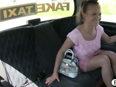 hawt blonde customer drilled and jizzed on by