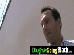 just watching my daughter fucking a darksome jock