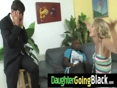 just watching my daughter fucking a black dong 69