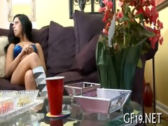 legal age teenager beauty learns to deepthroat